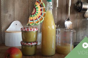 Apfelsaft selber machen Anleitung