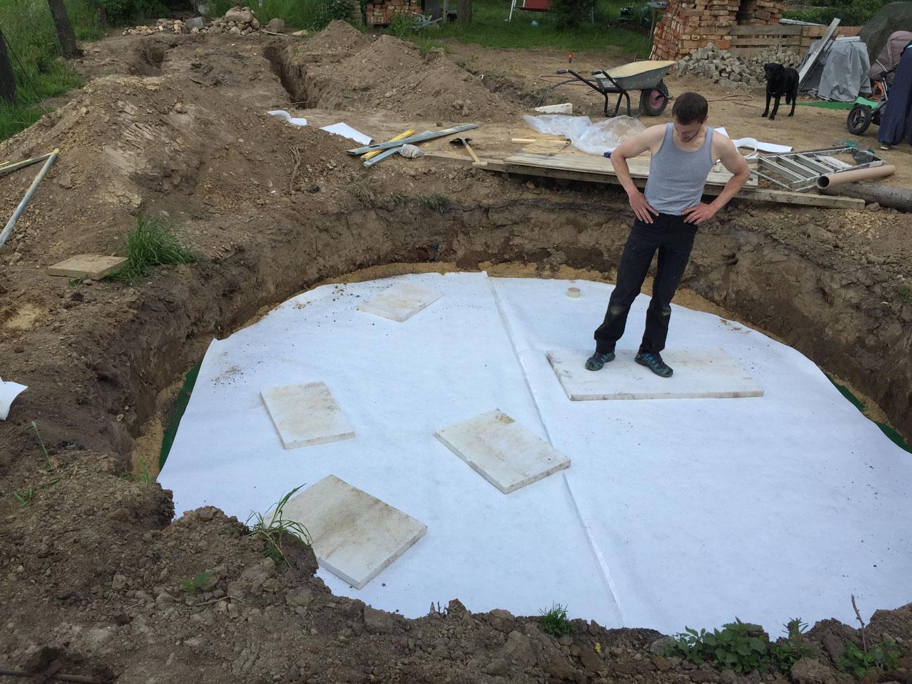 pool betonieren anleitung