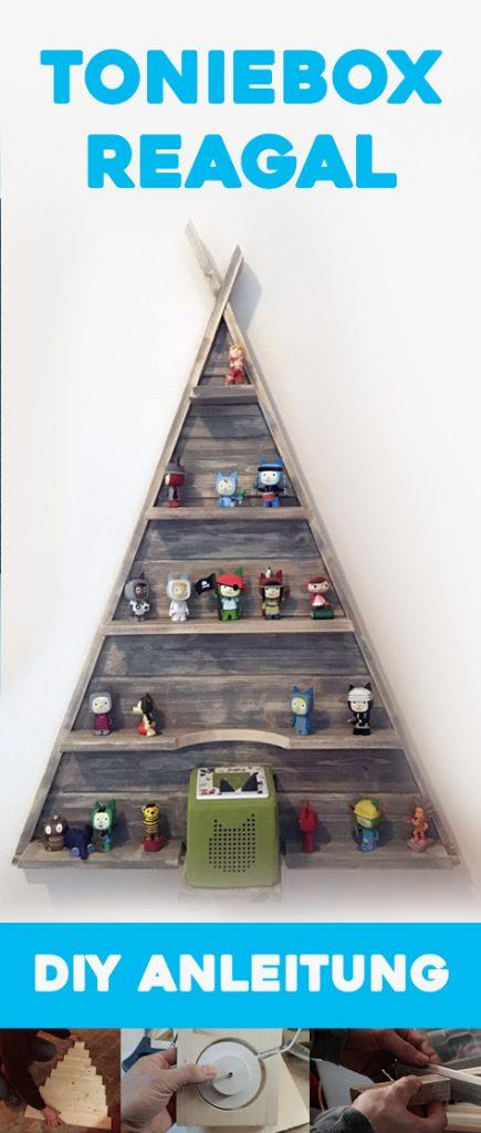 Tonieboxregal DIY Anleitung