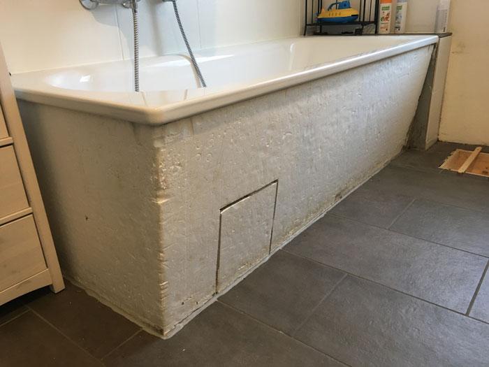 Badewanne mit Holz verkleiden – Haus Hof Hühnerstall